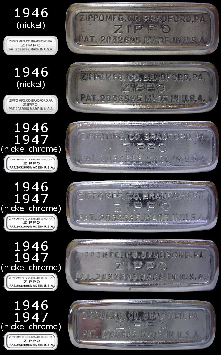 [Datation] Les Zippo Regular Regular-1946-1947-5266e6b