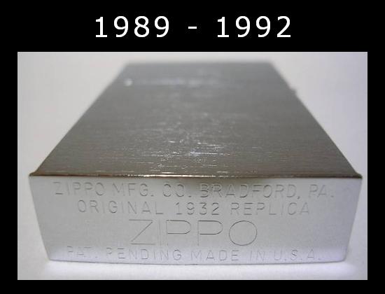 [Datation] Les Zippo 1932-1933 Replica 1989---1992-523a893