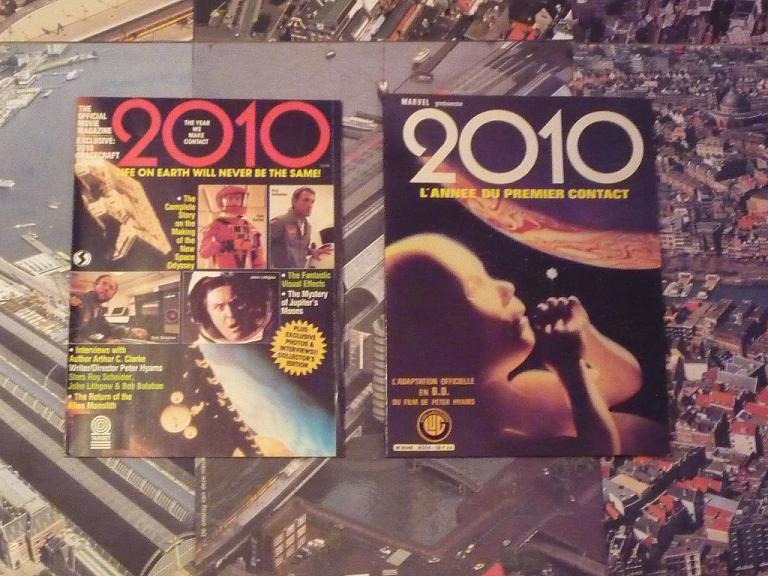 quelques livres sur 2001 odyssée de l'espace Ti86-p1230311-49744a2