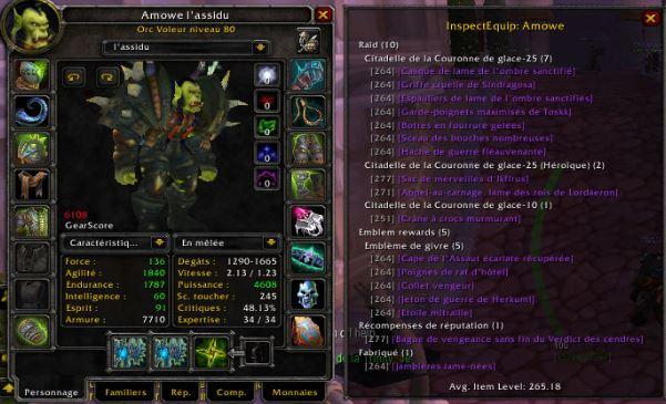 Candidature Amowe, Rogue Combat. Stuff-50cc0bc