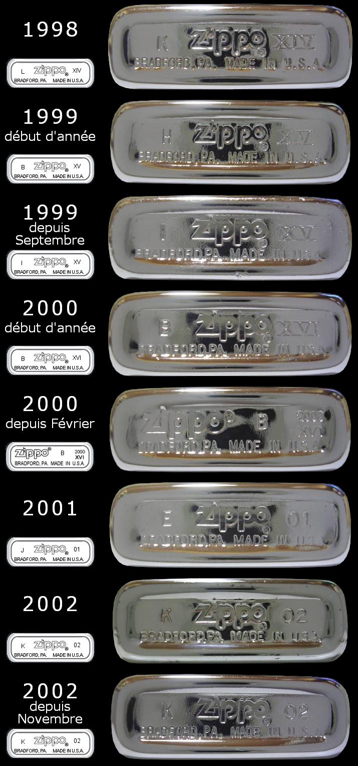[Datation] Les Zippo Slim 1998-2002-525cab6
