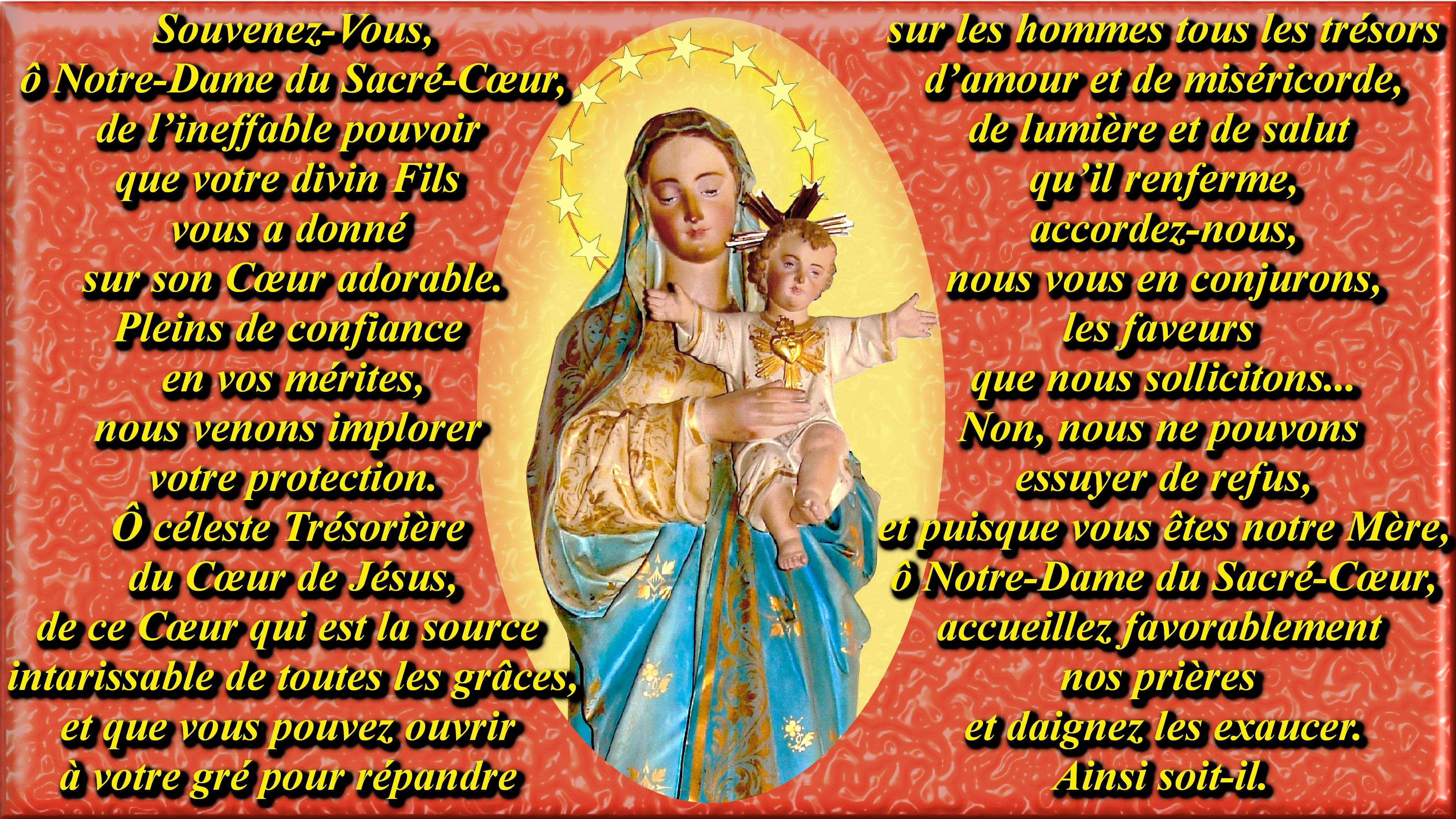 NEUVAINE à la Très Sainte Vierge MARIE (Saint Alphonse de Liguori) Le-souvenez-vous-...r--coeur-55623a2
