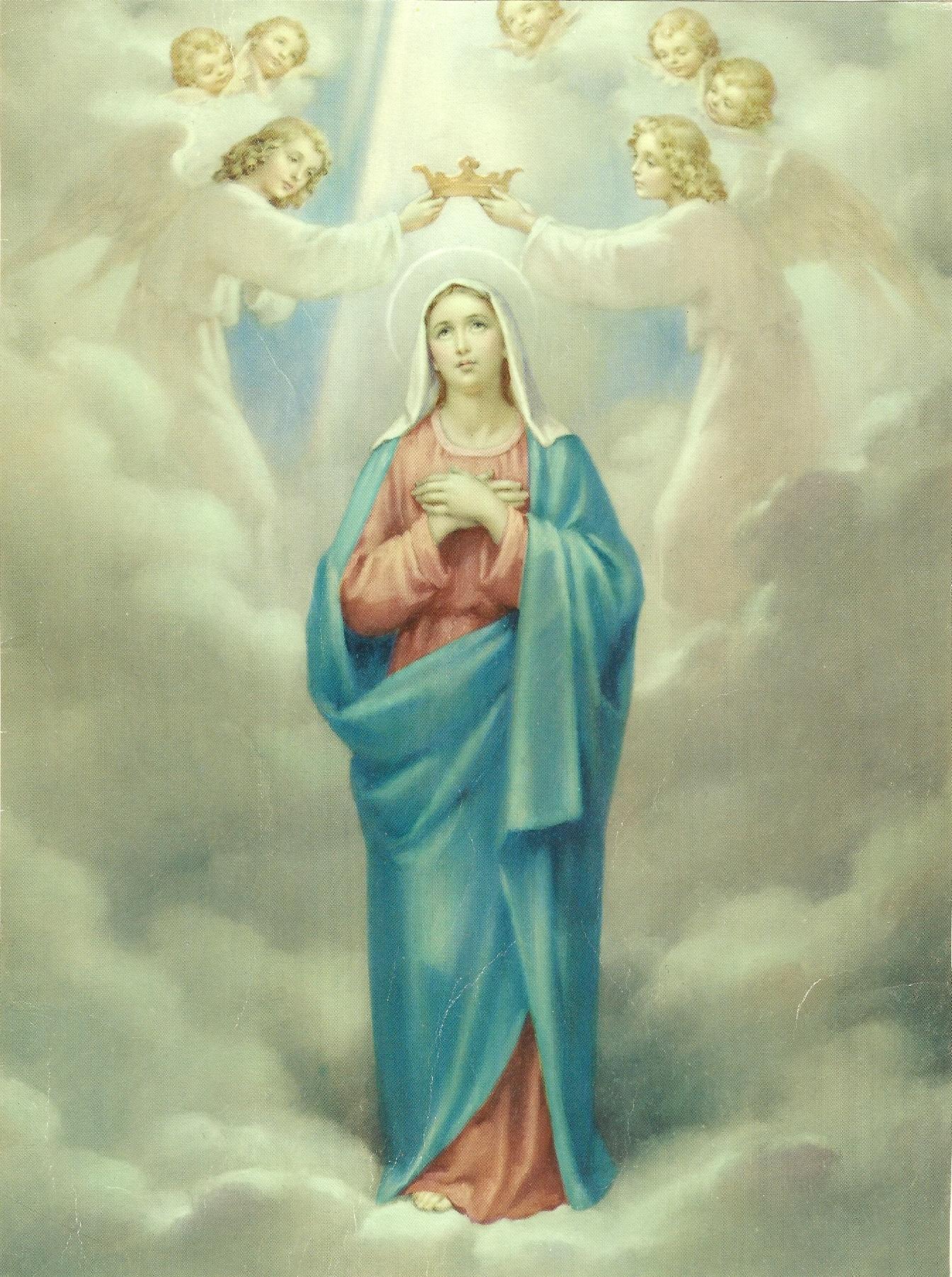 Le Rosaire en Images - Page 2 15--le-couronnement-de-marie-55a9fa8