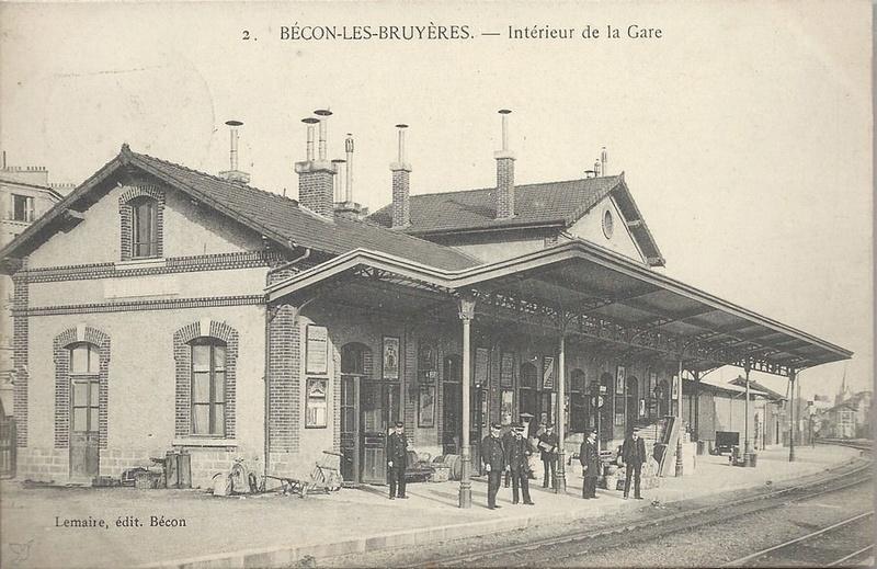 La gare de Bécon les Bruyères B-con6-524f0ee