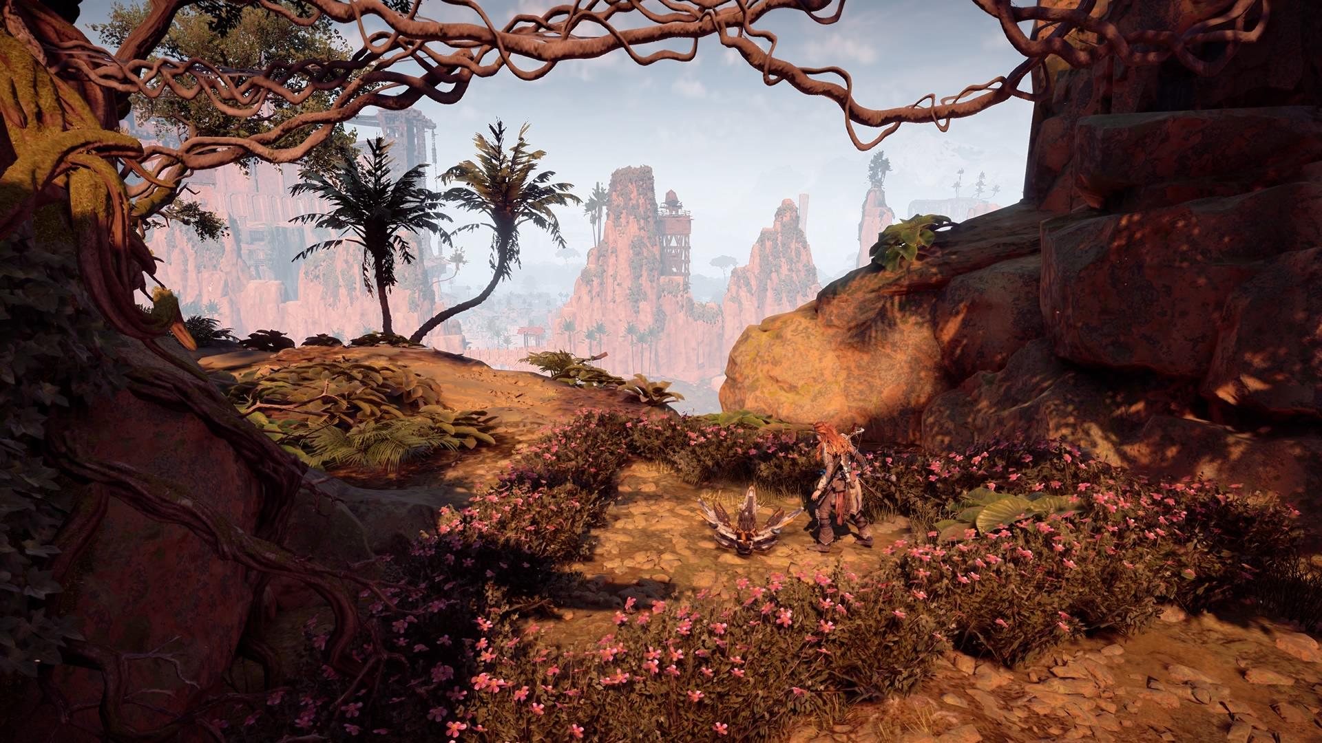 Horizon Zero Dawn toutes les fleurs de métal trouvées