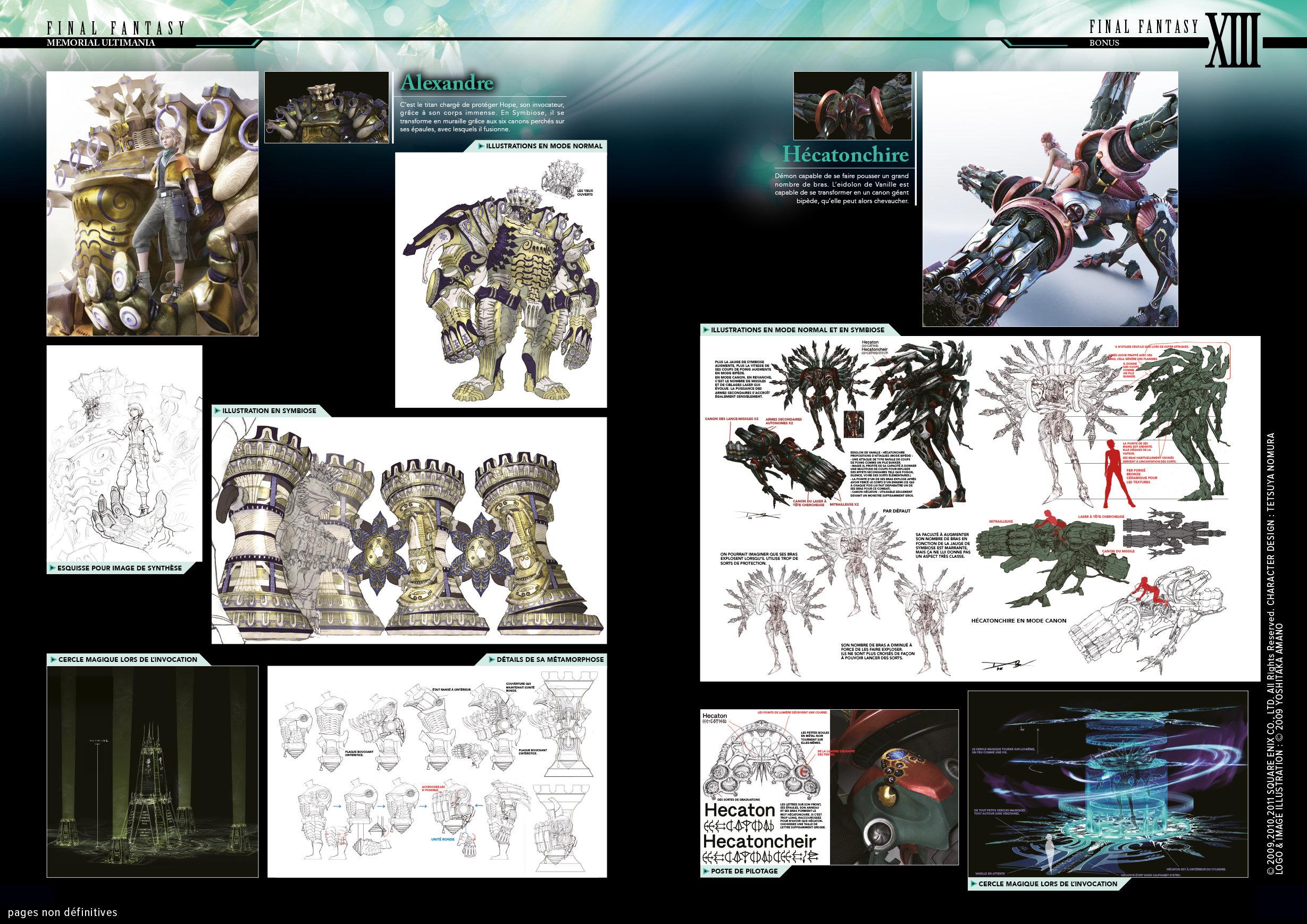Final Fantasy Encyclopédie officielle Memorial Ultimania Vol. 2