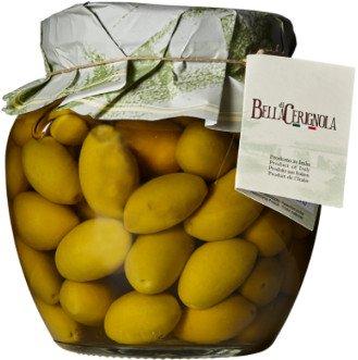 Bella di Cerignola, aceitunas italianas en tarro de cristal