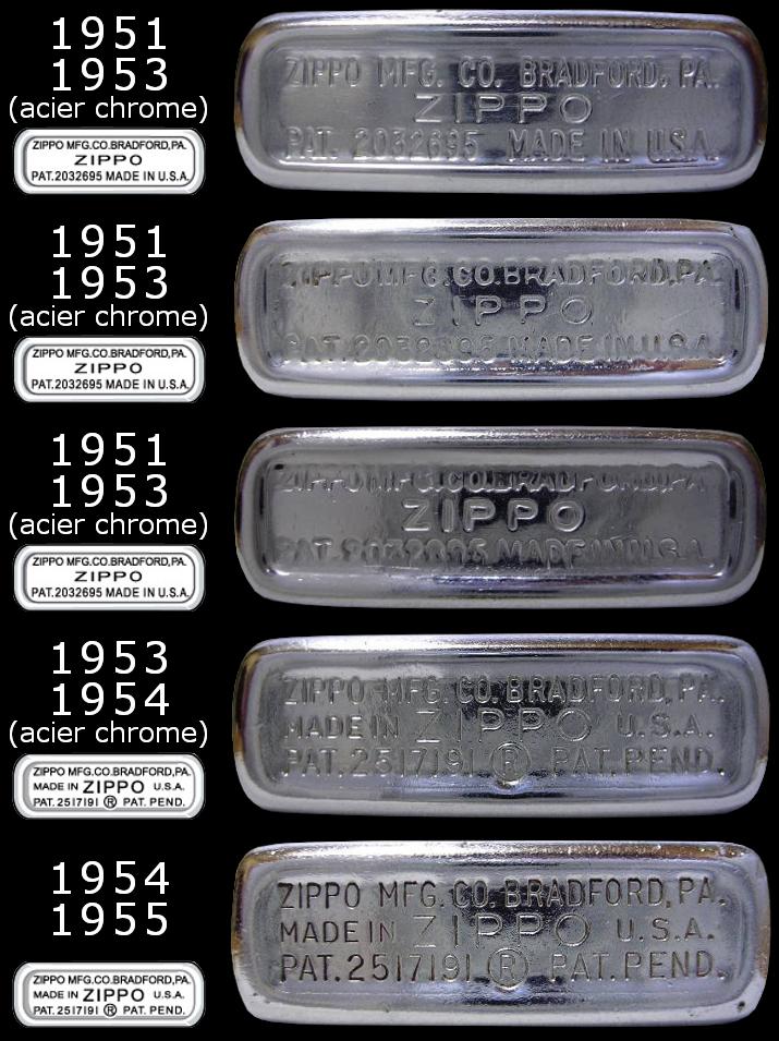 [Datation] Les Zippo Regular Regular-1951-1955-5266ed0