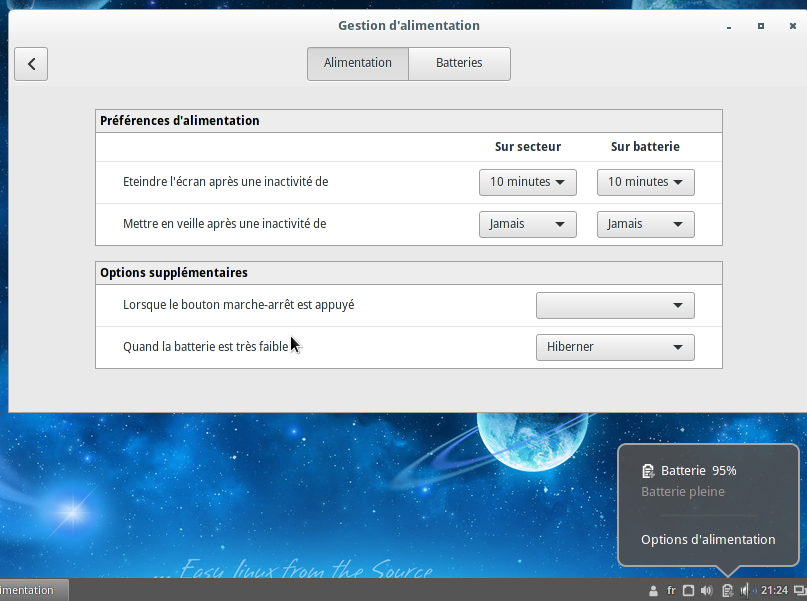Cinnamon Desktop - Which packages need to be installed