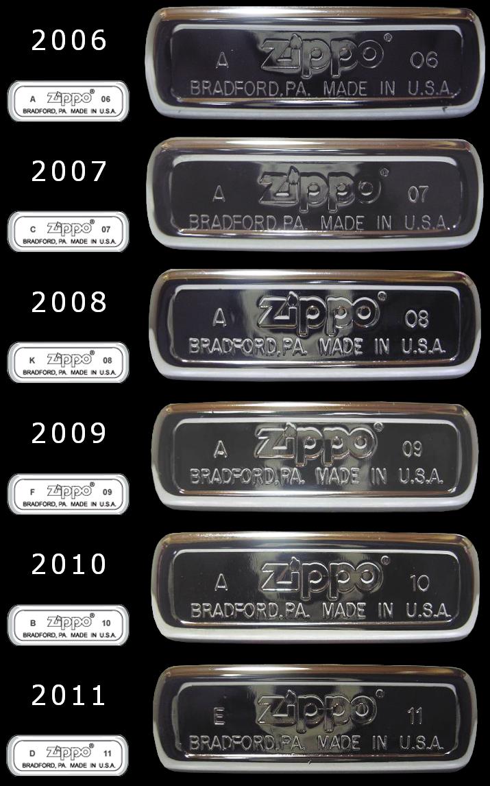 [Datation] Les Zippo Regular Regular-2006-2011-52670f6