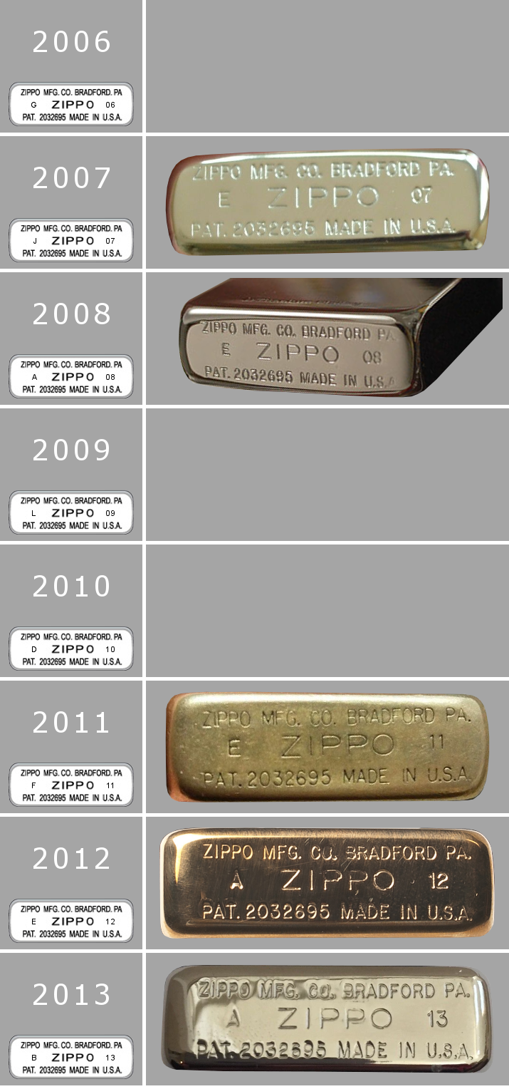[Datation] Les Zippo 1941 Replica 2006-2013-525b8c0