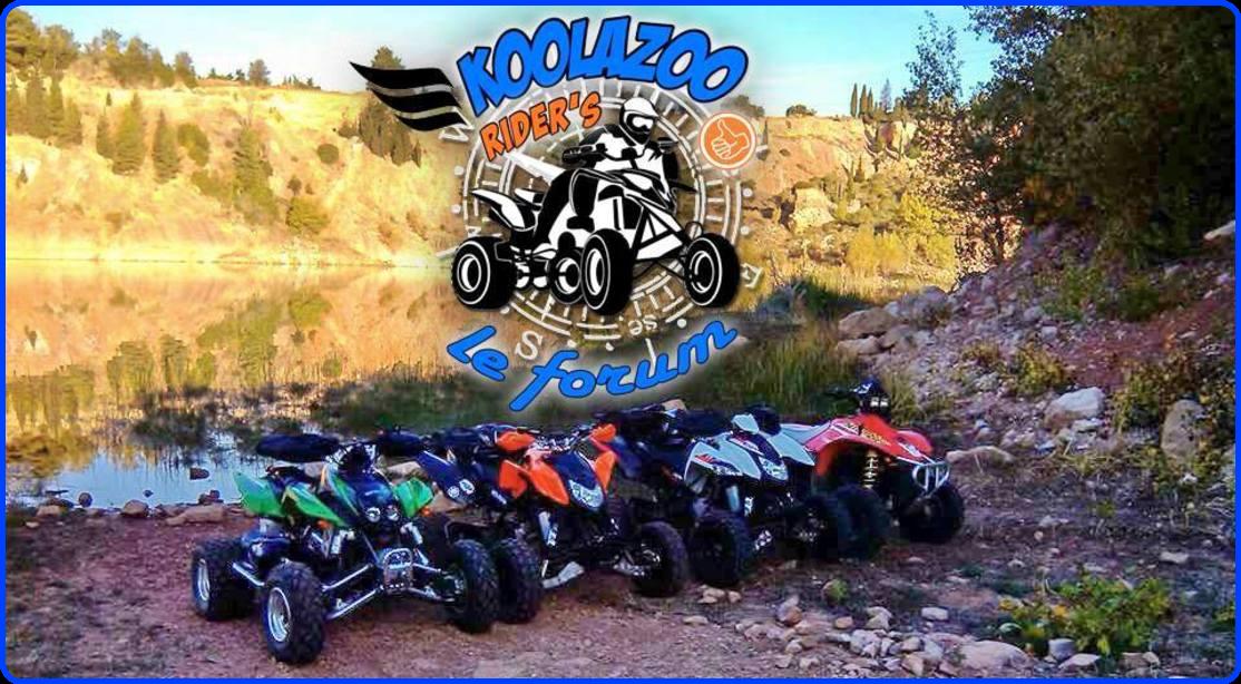 forum quad koolazoo rider's Index du Forum