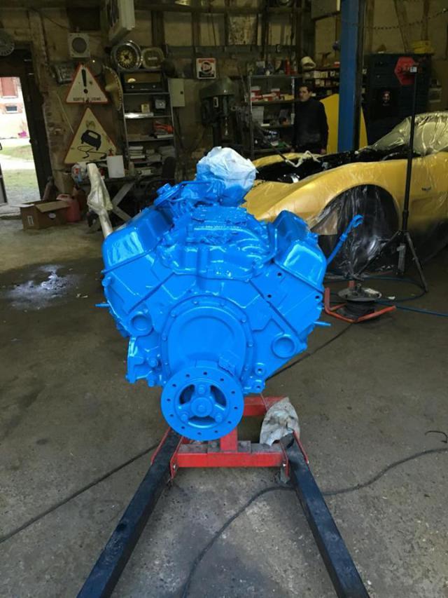 restauration corvette ou plutôt un petit lifting pour noel 17-5138449