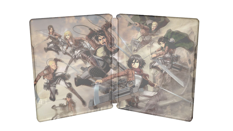 Attack on Titan 2 Wings Of Freedom Steelbook