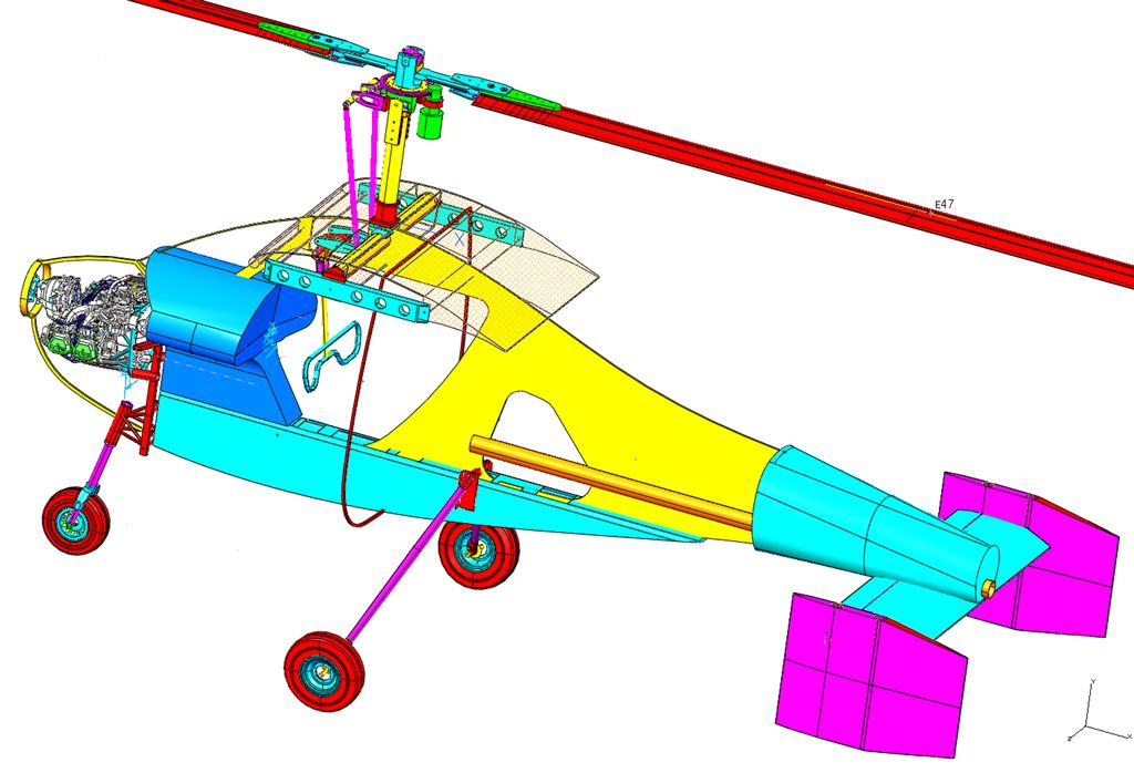Astral tractor gyroplane | Rotary Wing Forum