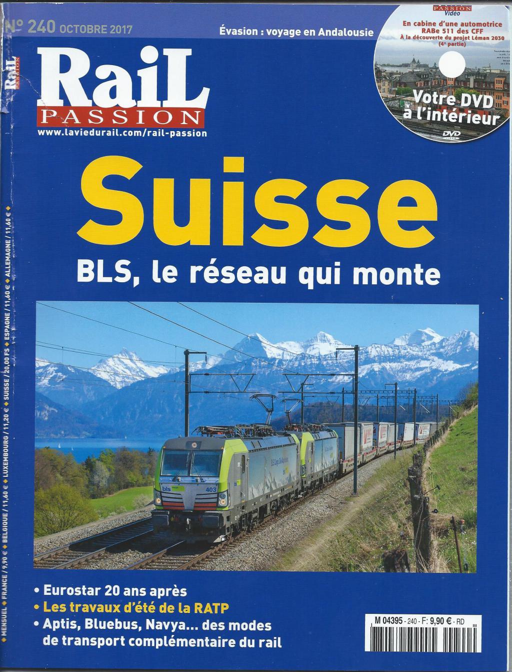 Le dernier rail passion  Trainsuisse-532418a