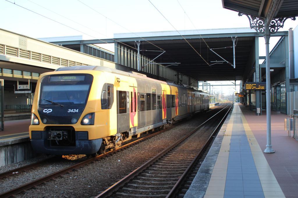 La Gare d'Aveiro au Portugal  Photo46-4c301c5