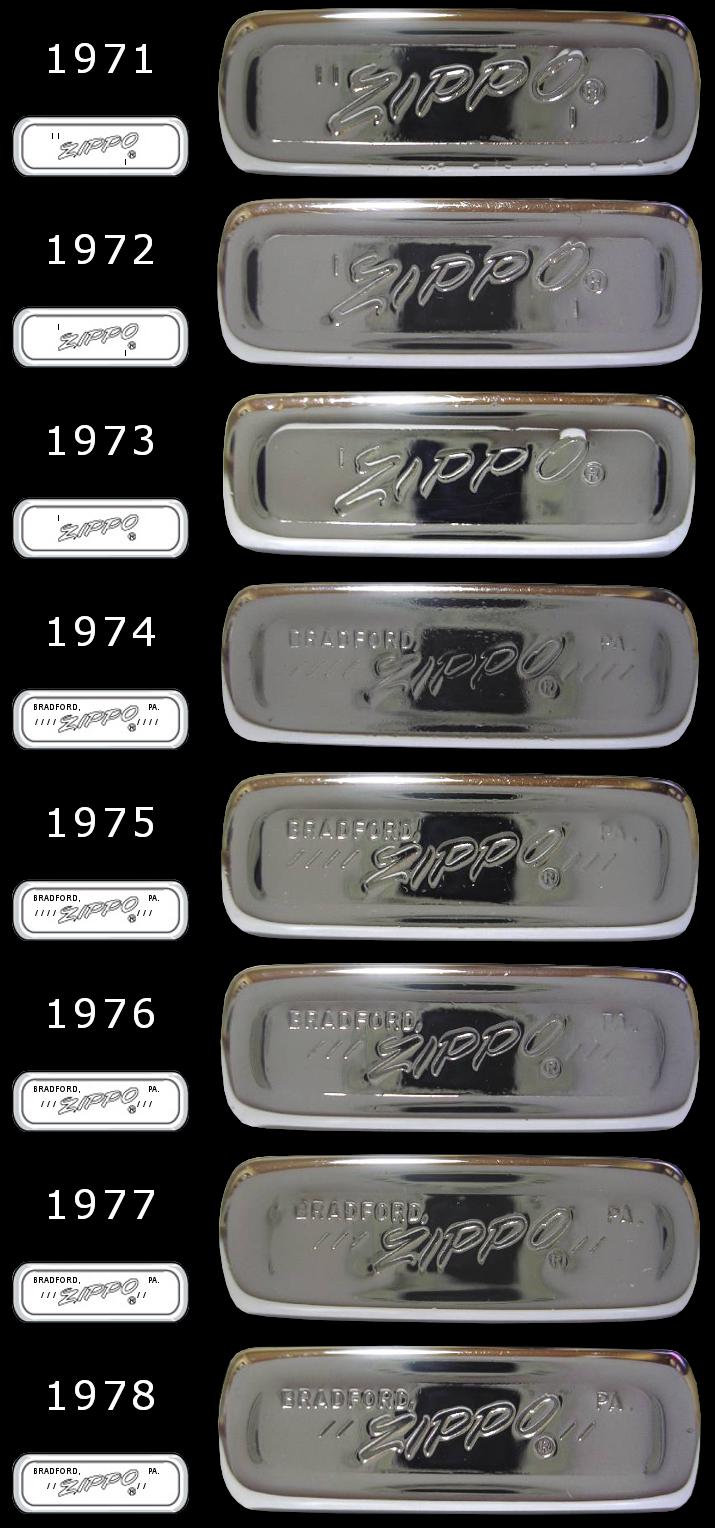 [Datation] Les Zippo Slim 1971-1978-525caac