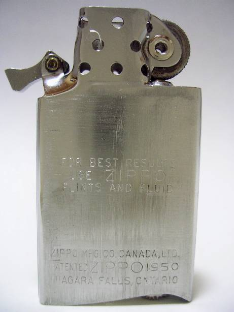 [Datation] Les Zippo Canada (Niagara Falls, Ontario) 1958-fin-523799c