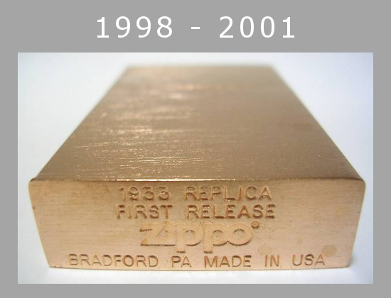 [Datation] Les Zippo 1932-1933 Replica 1998---2001-2--523a993
