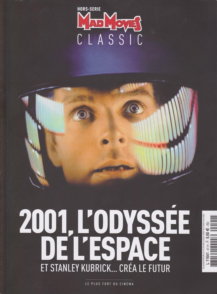 quelques livres sur 2001 odyssée de l'espace Mad-2001-545aaca