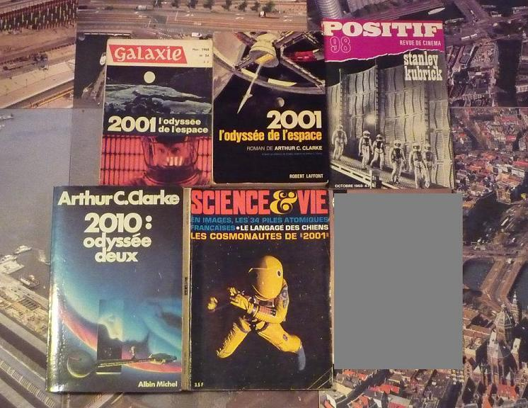 quelques livres sur 2001 odyssée de l'espace Ti15-01-p1050669-4974188