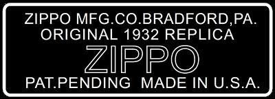 [Datation] Les Zippo 1932-1933 Replica Bottom-dessin-1988-1992-523a863