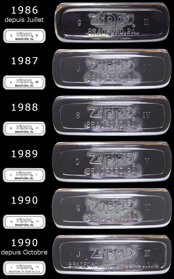 [Datation] Les Zippo Regular Regular-1986-1990-5267013