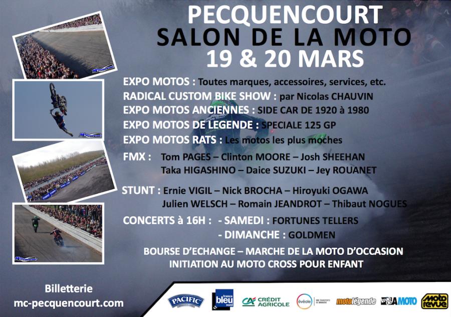 Salon de la moto pecquencourt 59 19 et 20 mars 2016 for Salon pecquencourt