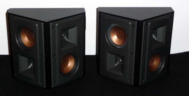 enceintes surround klipsch rs 42 mk i black baisse. Black Bedroom Furniture Sets. Home Design Ideas