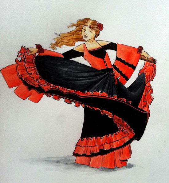 Événement ▬ Carnaval Jem_flamenco-53fe7d2