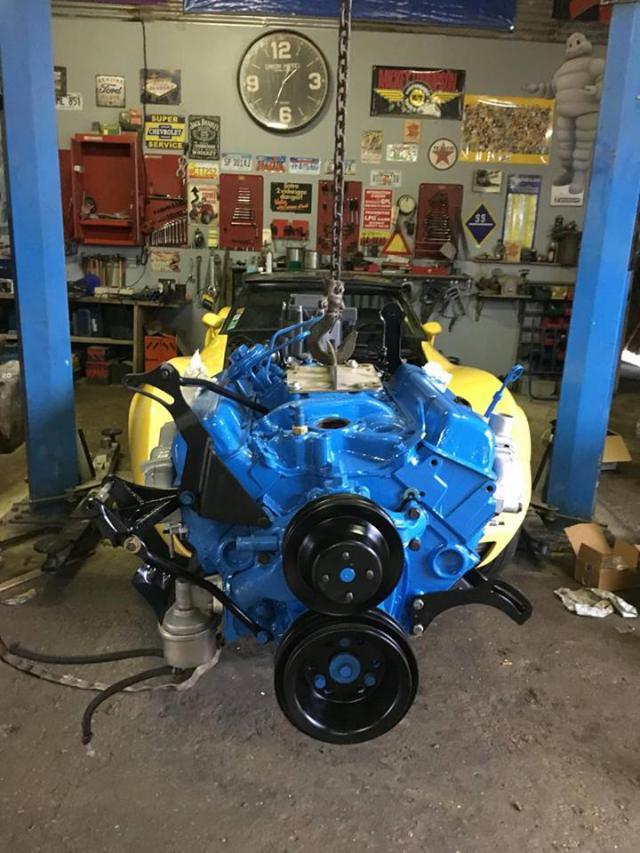 restauration corvette ou plutôt un petit lifting pour noel 24-5138834