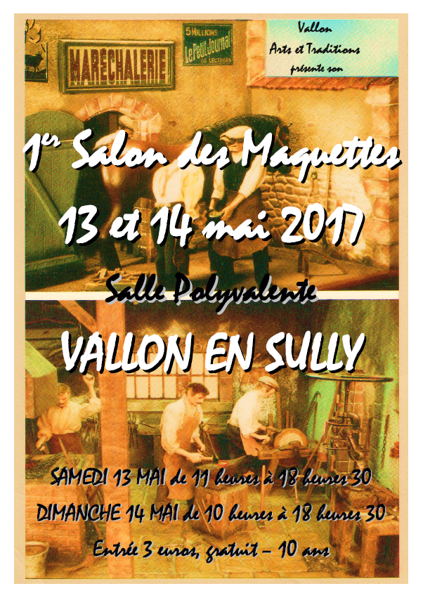 Salon des Maquettes à Vallon en Sully 13 et 14 mai 2017 2017-vallon-en-sully-522eb94