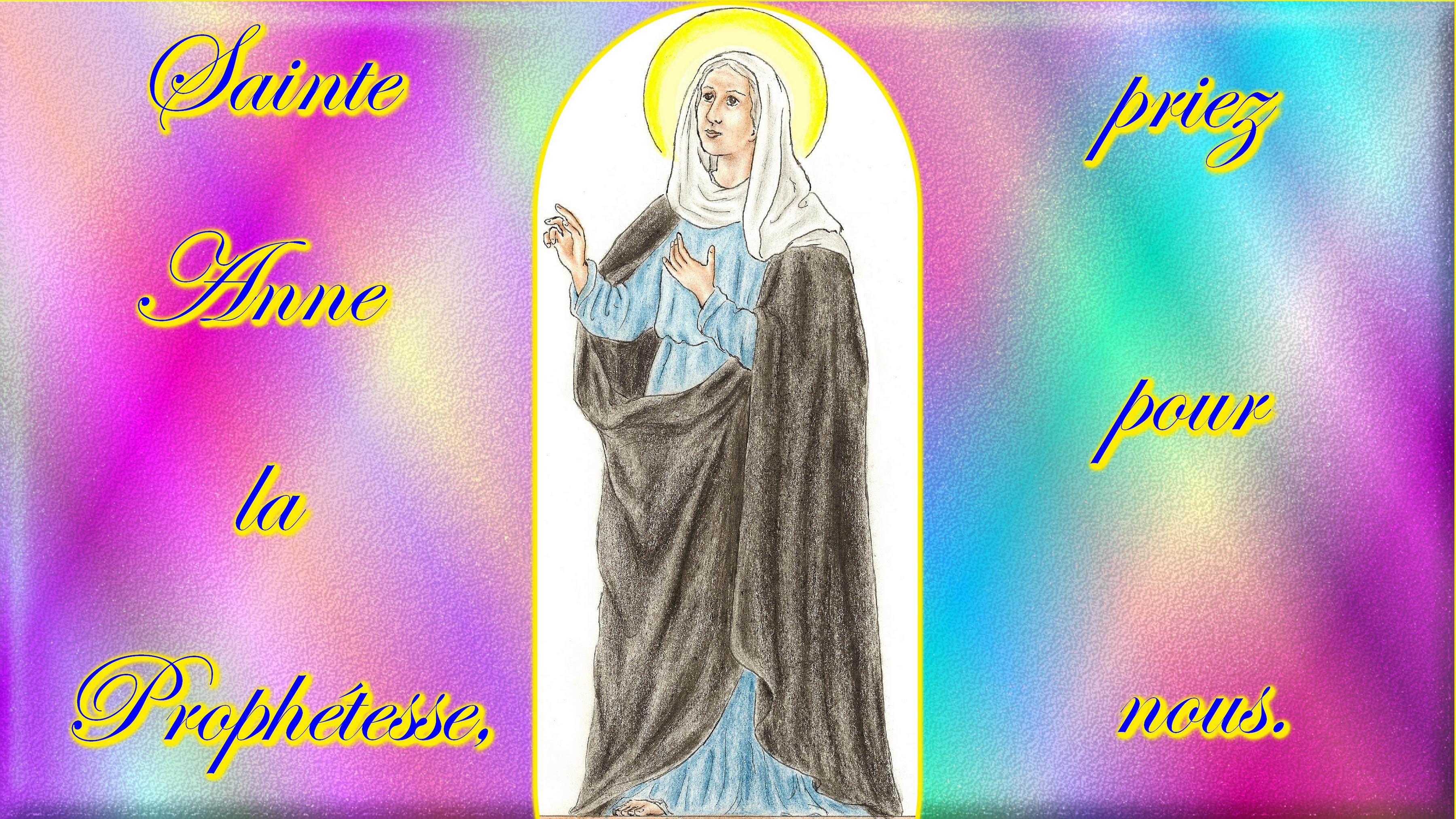 CALENDRIER CATHOLIQUE 2019 (Cantiques, Prières & Images) - Page 7 Ste-anne-la-proph-tesse-5685786