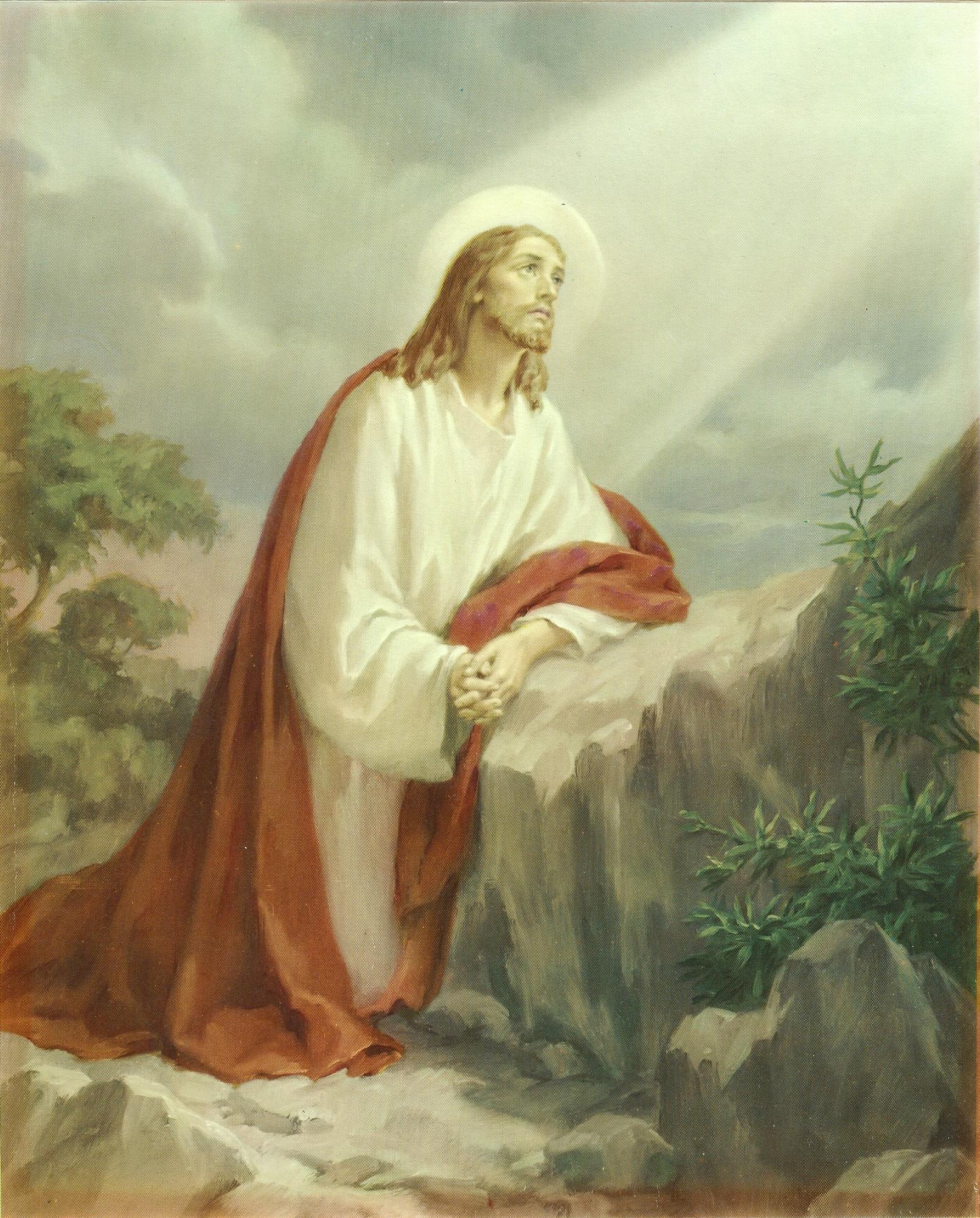 Le Rosaire en Images - Page 2 6--l-agonie-558d00f