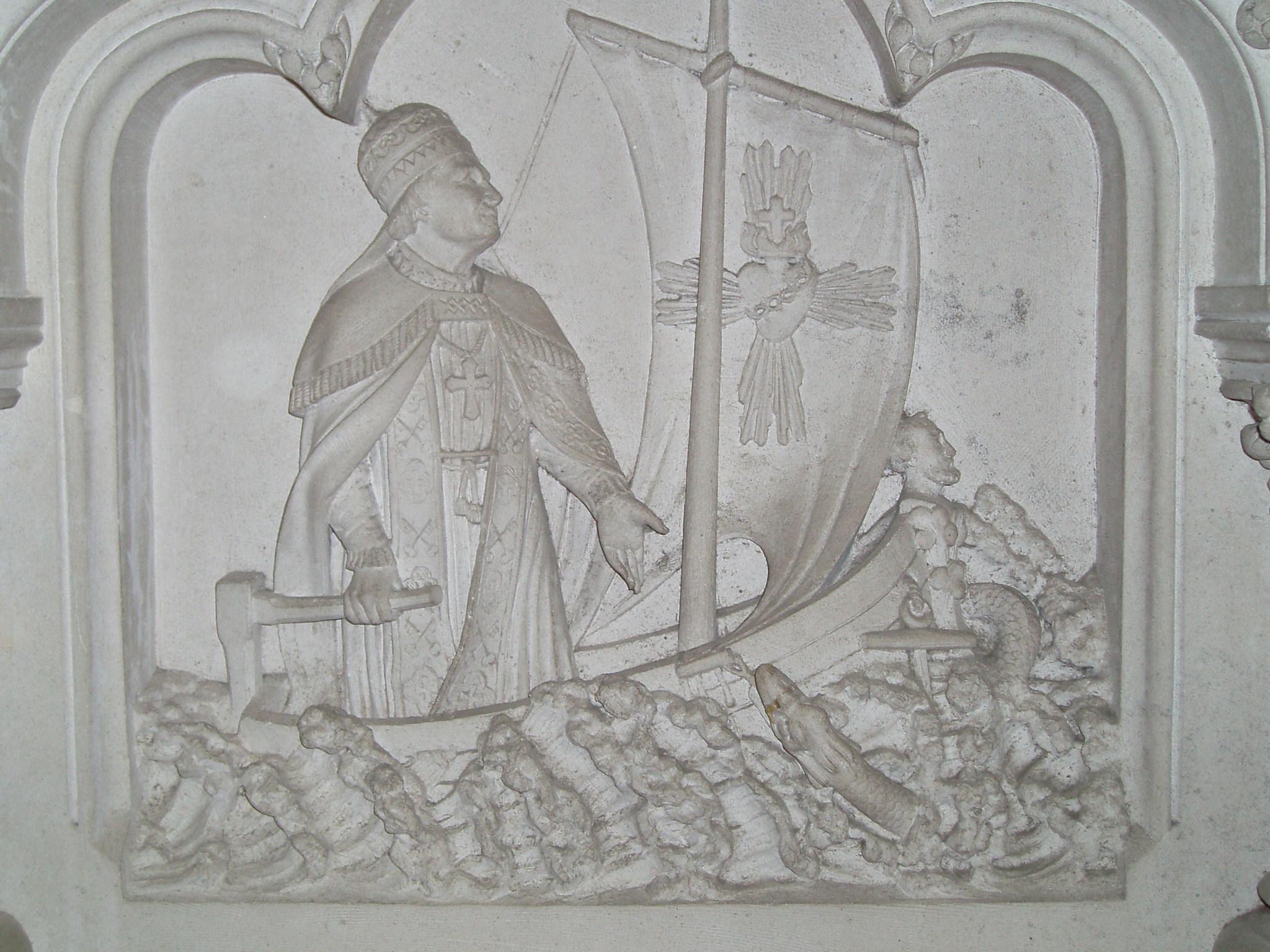 L'INDÉFECTIBILITÉ de l'ÉGLISE Le-pape-dirigeant...r--coeur-5604baa