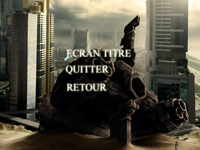 Sentinelles la quête du temps : Recommencer (Reboot) Quitter-4b26cdb