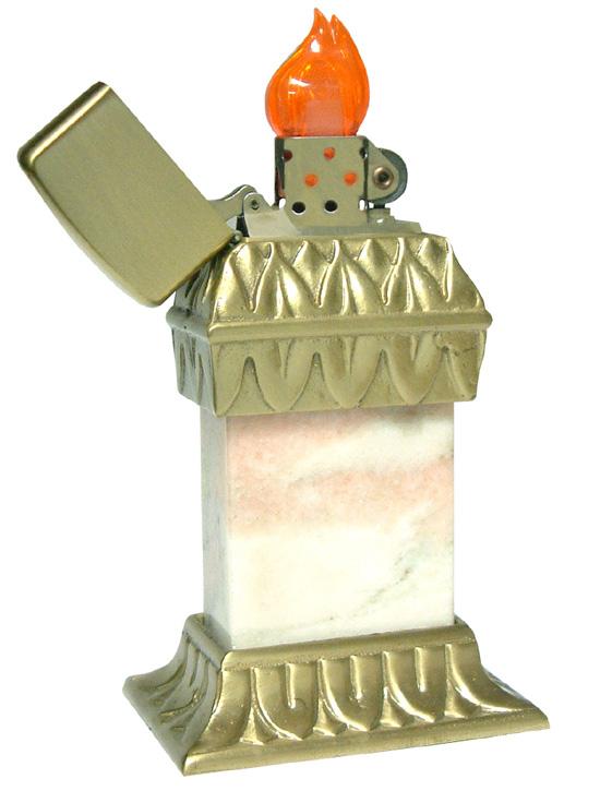 [Datation] Les Zippo Table Lighter Roseart-prototype-526938b