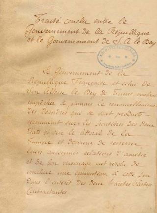 Une petite histoire par jour (La France Pittoresque) - Page 7 Trait-_du_bardo_de_1881_-_p3-5475df0