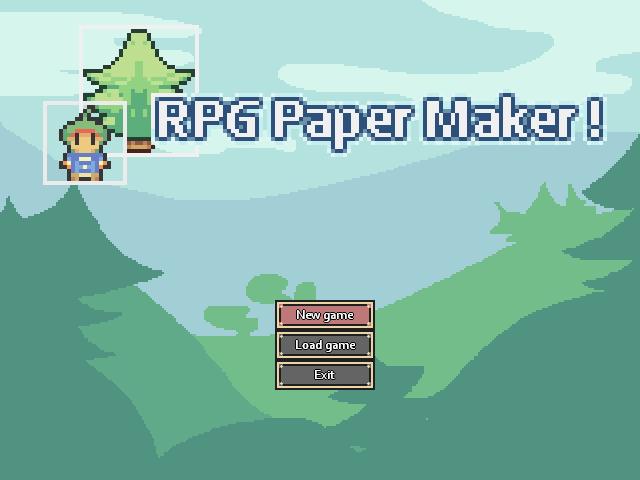 RPG Paper Maker Blog :: Update 7 : Window choices, map