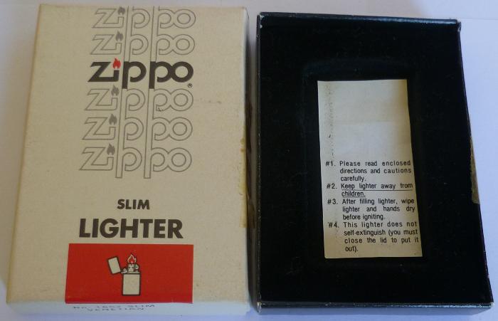 Les boites Zippo au fil du temps - Page 2 Zippo-1981---slim...etian-2--52ed286
