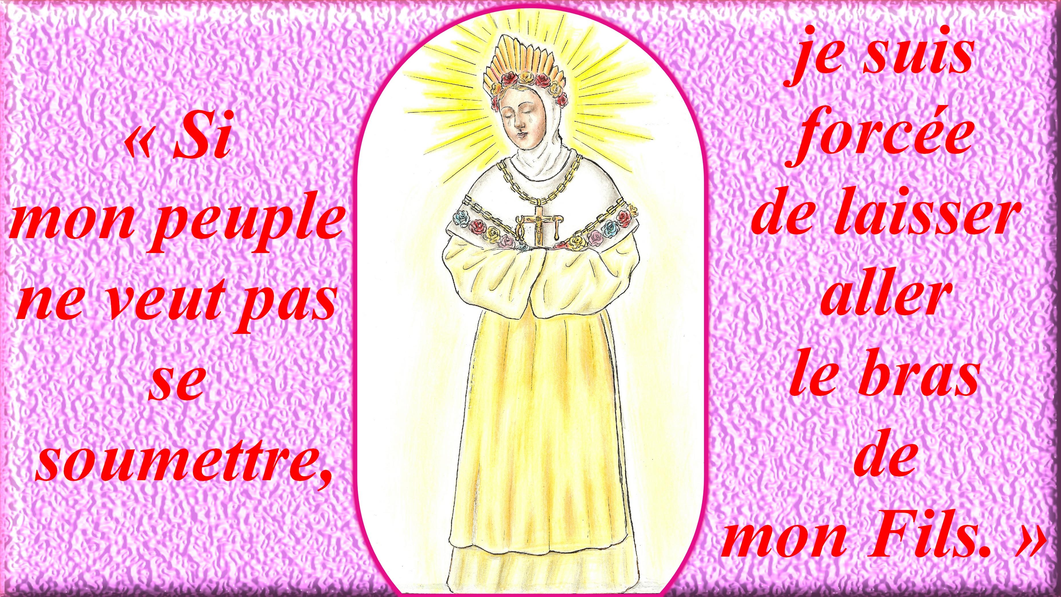 CALENDRIER CATHOLIQUE 2019 (Cantiques, Prières & Images) - Page 9 Notre-dame-de-la-salette-55cfd81