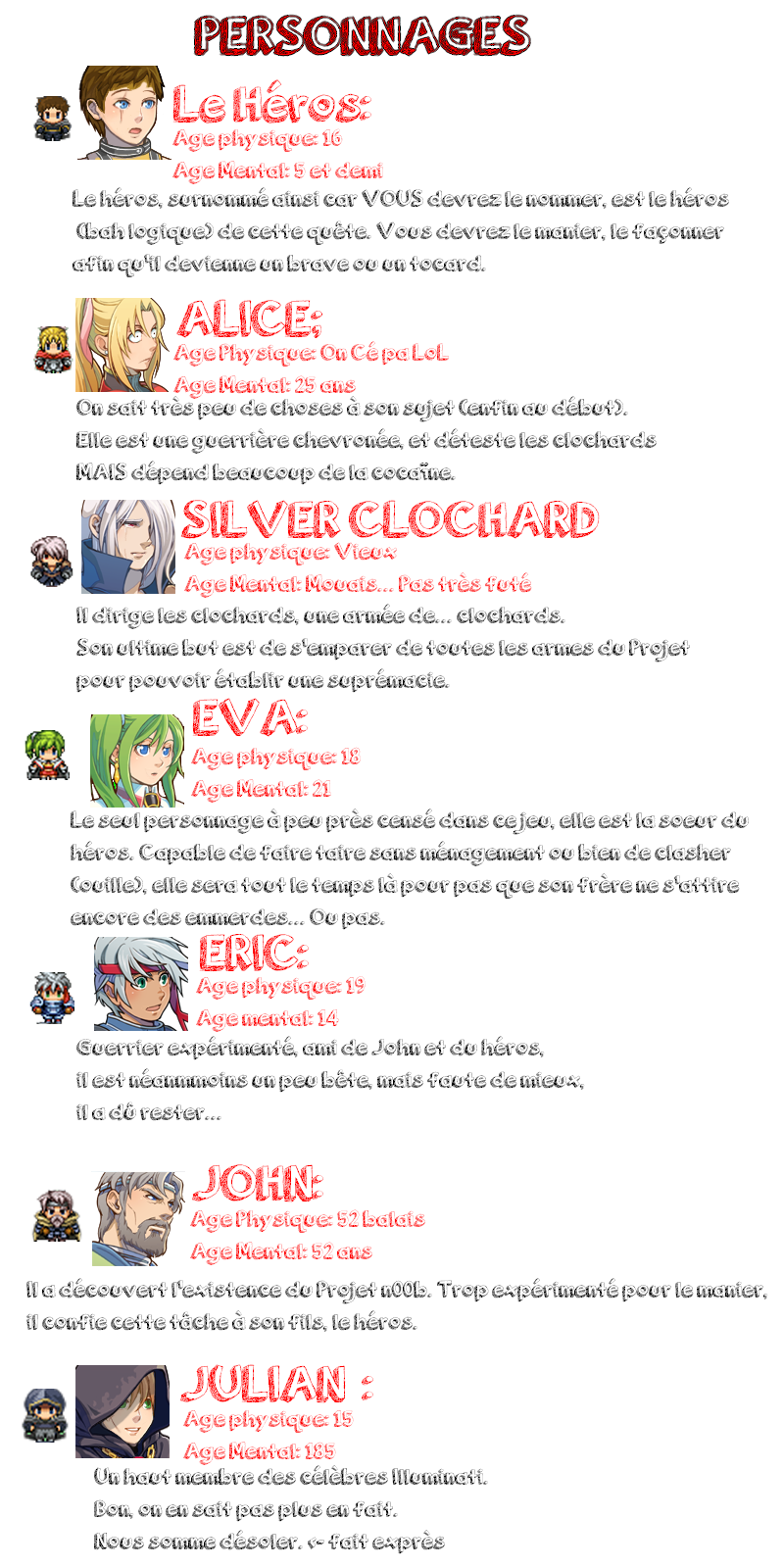 Project n00bieS - Un RPG qui ne respecte pas les clichés habituels! [Demo Disponible!] Personnages-pn-4c8d61d