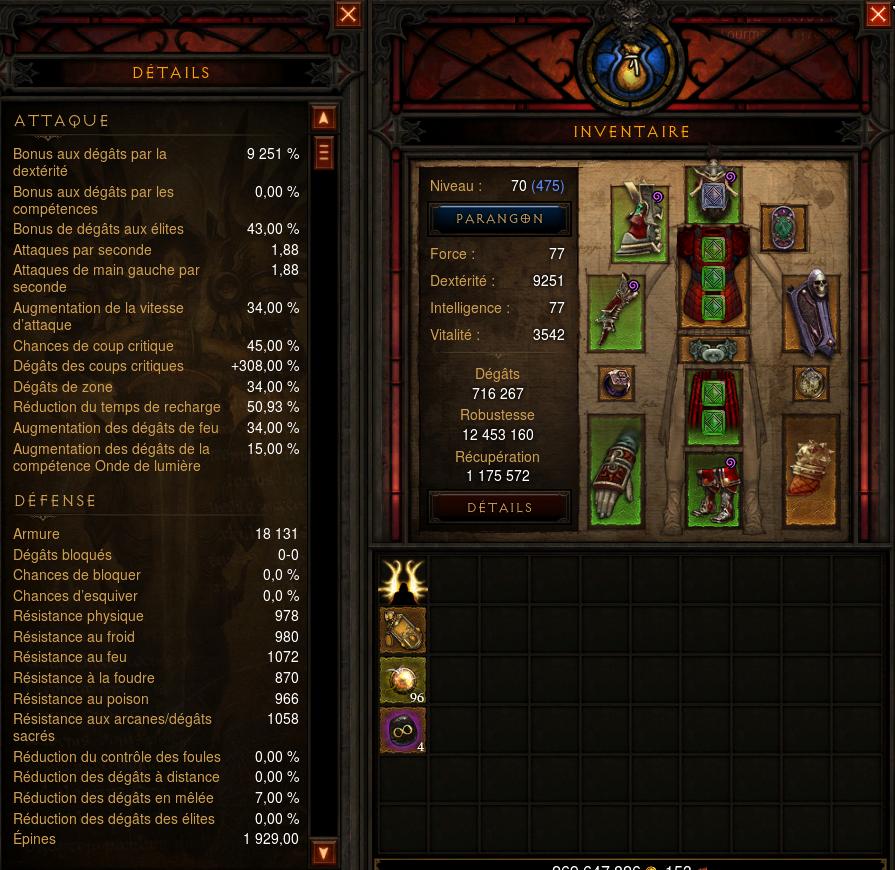 Diablo  Build Sans Set