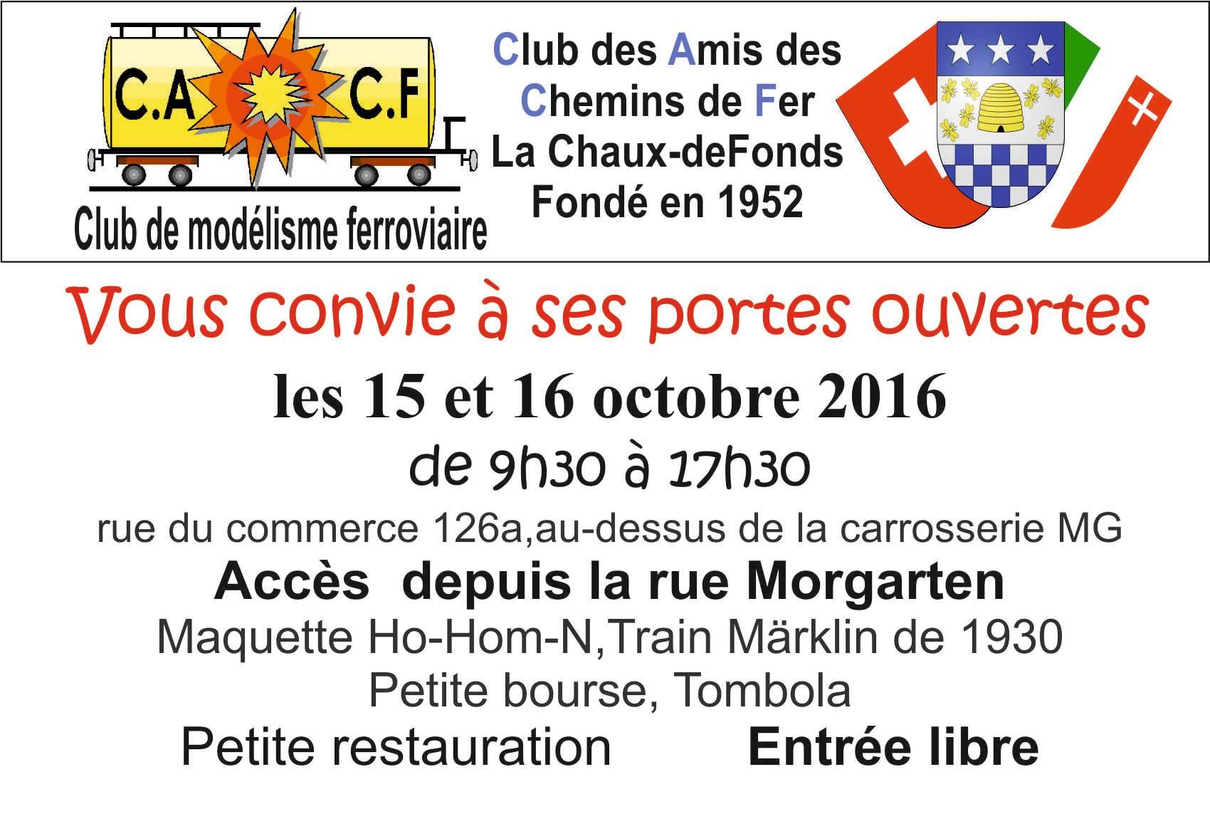 Portes ouvertes du CACF à La Chaux-de-Fonds (Suisse) Cacf-509b52e