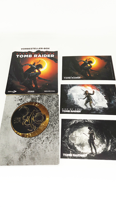 Shadow of the Tomb Raider steelbook