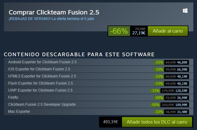 66% descuento en Fusion 2.5 en Steam (27,19€) Ofertaclickteam-54af1b5