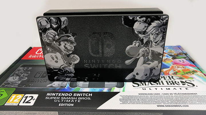 Nintendo Switch édition Super Smash Bros. Ultimate