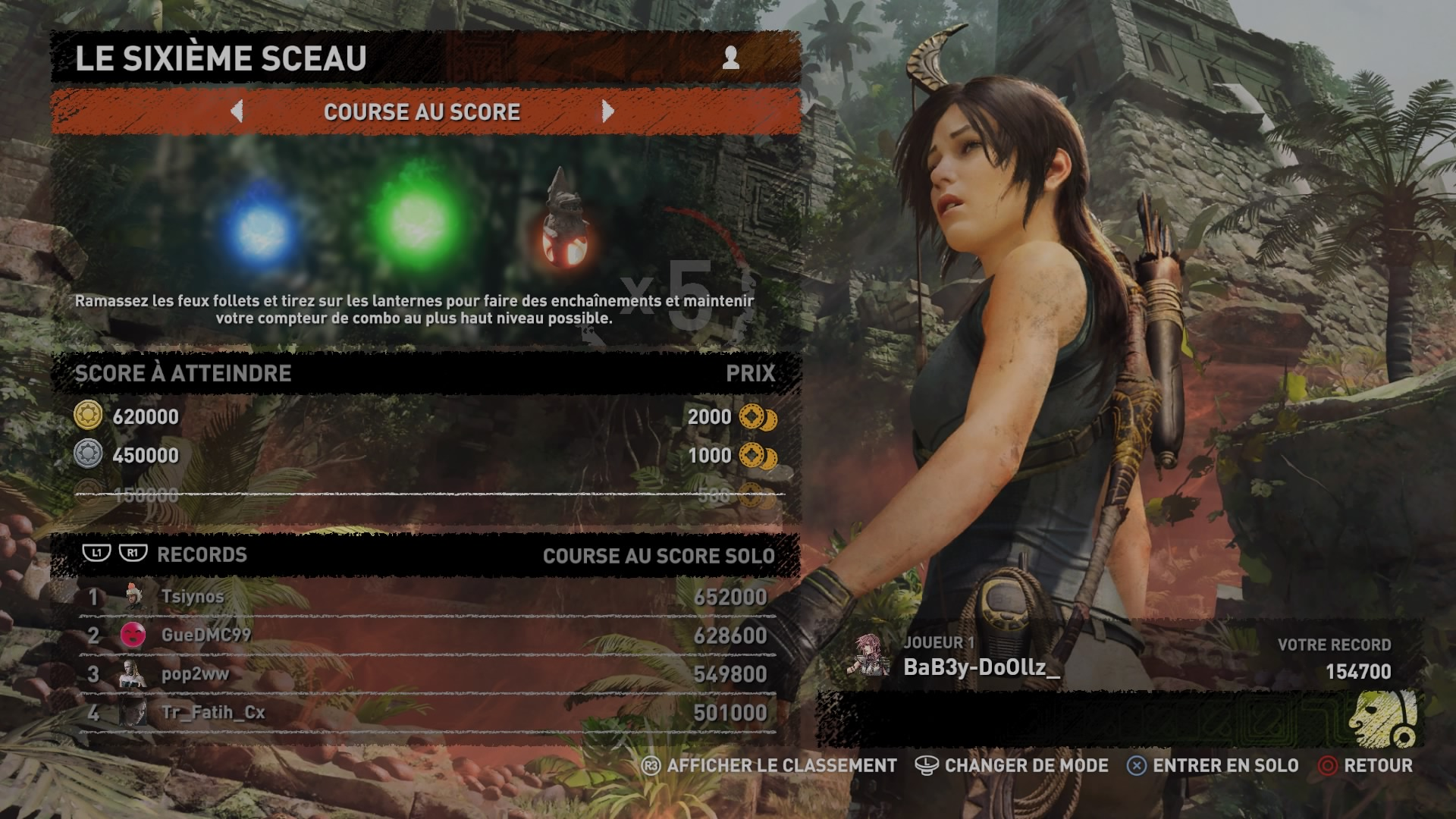 Shadow of the Tomb Raider Le pilier