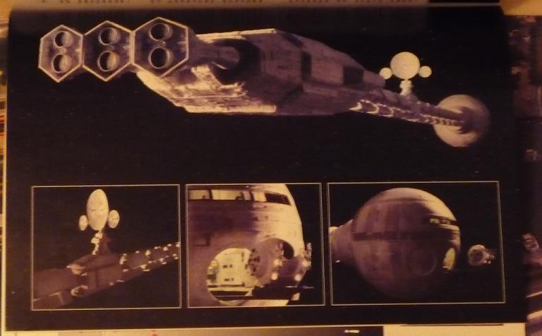 quelques livres sur 2001 odyssée de l'espace Ti22-p1230262-49741f1